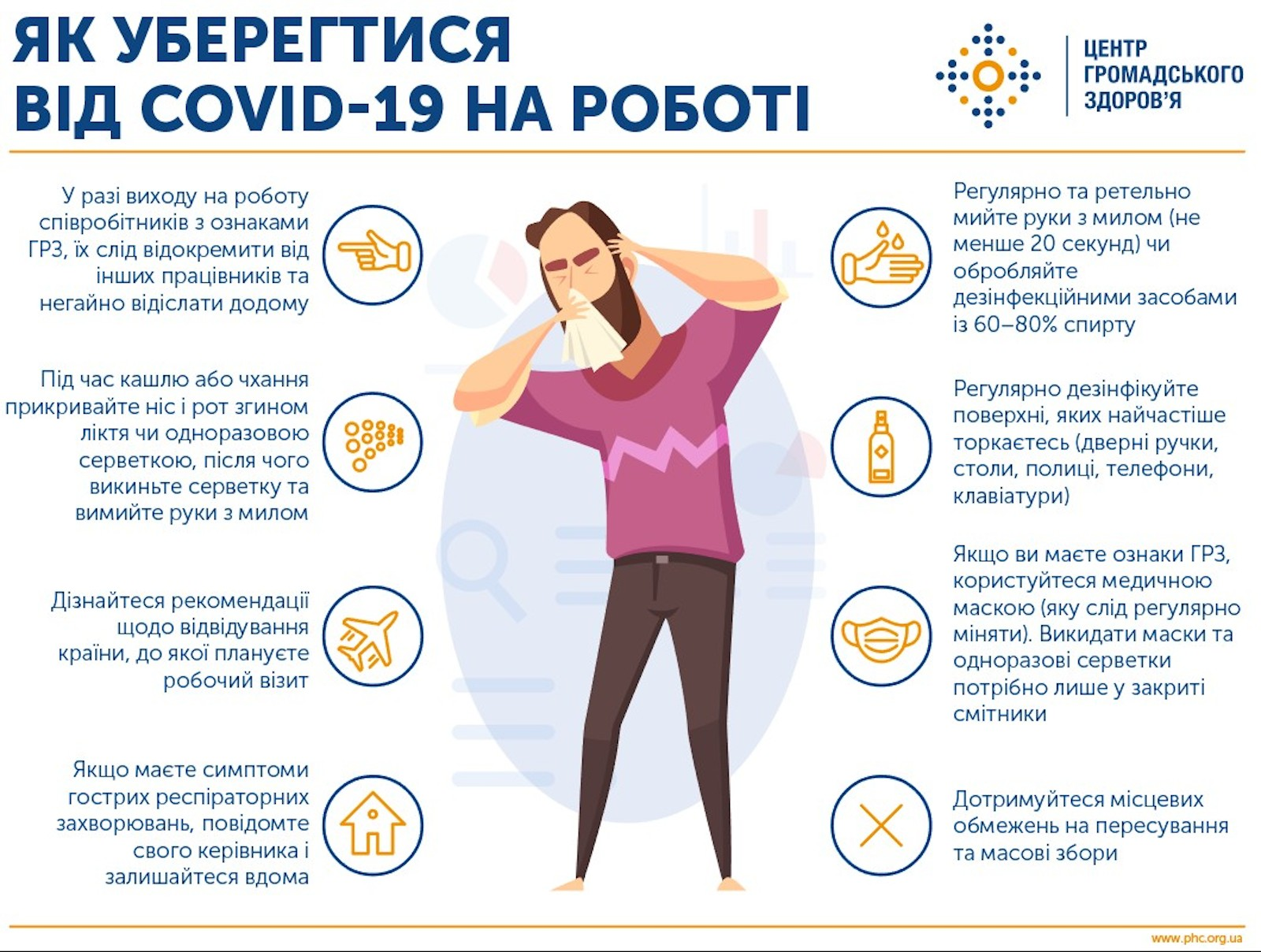 УВАГА! Короновірусна інфекція COVID-19! :: Міський лікувально-діагностичний центр м.Вінниця (МЛДЦ Вінниця)